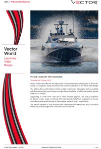 VECTOR LAUNCHES THE V40S RANGE
